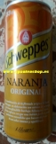 Schweppes orange without alkohol 0,33 l tin