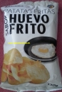 Potato chips with egs taste