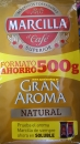 Coffee natural Marcilla ground 500gr. 8 Pack.