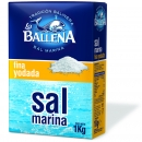 Sea salt 1kg fine with Jod