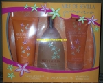 "Eau de Toilette and Showergel and Bodycream ""Aire de Sevilla"" je 150ml"